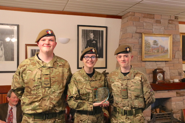A Name Engraved On The Ballymena War Memorial And Little Known Tale Of Heroism Local Minister Have Inspired Cullybackey Cadets To Find Out More